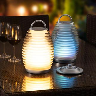Mathmos® Bump Laterne Ihre neue Lieblingslampe: Kabellos. Stilvoll. Innen wie außen vielseitig einsetzbar.