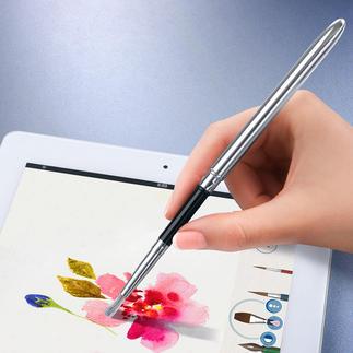 Touchscreen-Pinsel/-Pen Kunstvoll malen und zeichnen. Digital. So realistisch wie auf Leinwand und Zeichenblock.