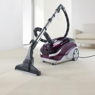 Aqua+ MultiClean X8 Parquet Saugt, wäscht und trocknet. In einem Arbeitsgang. Für Hart- und Teppichböden. Und sogar für Parkett.