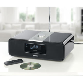 Roberts Radiorekorder BluTune 200 Musik aus praktisch jeder Quelle. In exzellenter Klangqualität. Spielt Digital-/FM-Radio, CD, MP3-Musik.