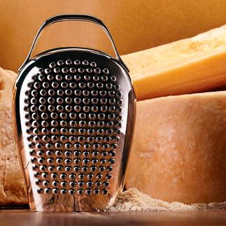 """Alessi Käsereibe """"Cheese Please"""" So originell kann die perfekte Käsereibe sein. Ein cooler Design-Blickfang in der Küche und bei Tisch."""