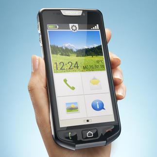 Easy-Smartphone emporiaSmart Modernste Smartphone-Technologie. Stylisches Design. Kinderleichte Bedienung.