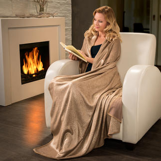 Metallic-Plaid Trendiger Blickfang auf Ihrer Couch, dem Lieblingssessel, Loungebed, ...