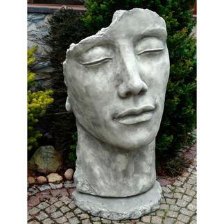 Steinguss-Skulptur Eindrucksvoll wie ein archäologischer Fund in Ihrem Garten.