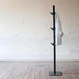 Garderobe Polehanger Minimalistisches Design. Minimaler Platzbedarf. Maximaler Nutzen.