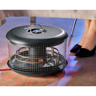 Wärmepilz Bellardor Handlich, energiesparend, sicher und preisgünstig. Sorgt immer für wohlig warme Füße - outdoor und indoor.