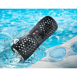 Bluetooth-Outdoor-Lautsprecher Stylisch. Soundstark. Wasserfest. Der kabellose Bluetooth-Speaker für Strand, Pool, Camping, Boot, ...