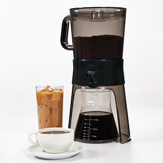 Cold Brew-Kaffeebereiter Das In-Getränk der Szene-Cafés. Jetzt ganz einfach selbst zubereiten.