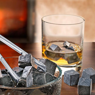 Whisky Stones Millionen Jahre alte Specksteine kühlen Ihre Drinks – ohne sie zu verwässern.