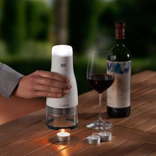 Kerzenbetriebene LED-Leuchte Lumir C Stimmungsvolles LED-Licht – unabhängig von Steckdose, Batterien, Sonnenenergie.