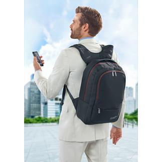 Wolffepack™ Sicherheitsrucksack Der erste Rucksack mit bequemem Schnellzugriff. Schwingt mit einem Handgriff von hinten nach vorne.
