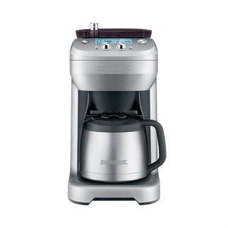 """Kaffeemaschine """"Grind & Brew"""" Frisch gemahlen und sofort gebrüht: 1 Tasse oder 1 Kanne. Einfach auf Tastentipp."""