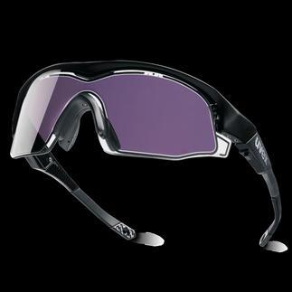 uvex Variotronic-Sonnenbrille Sportbrillen-Technologie neuester Stand: hell  dunkel in 0,1 Sekunde (!).