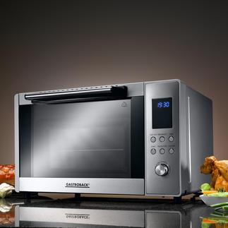 Gastroback Bistro-Ofen Top-Ausstattung zum sehr guten Preis. Elektronische Steuerung, 9 Automatik-Programme, 3 Heizarten, ...