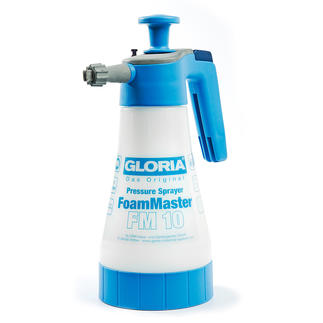 Gloria® FoamMaster Verwandelt herkömmliche Haushaltsreiniger im Nu in kraftvollen Reinigungsschaum. Spart Aufwand und Zeit.