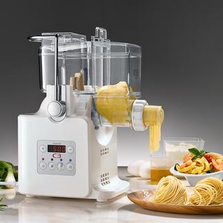 Pasta-Maschine mit Trockengebläse Einfach Zutaten einfüllen: In nur 7 Minuten sind bis zu 300 g frische Pasta fertig.