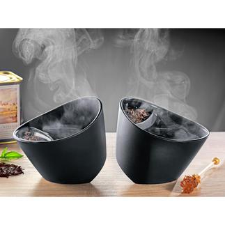 Teebecher Geniales Kippsystem bereitet Ihren besten Tee. Perfekt für alle Blatt-Tees.