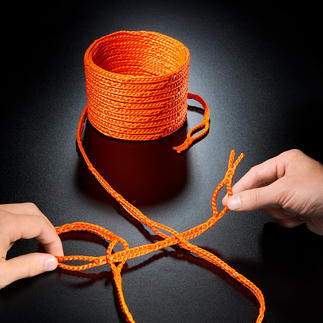RunLock® Schlaufenseil Geniales Schlaufenseil macht Knoten überflüssig. Einfach schlingen – hält bombenfest.