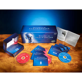 """CD Box Wilhelm Furtwängler """"Das Vermächtnis"""" 107 CDs, 1157(!) Einspielungen: die Gesamtausgabe zum Lebenswerk Wilhelm Furtwänglers."""