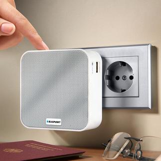Blaupunkt Steckdosenradio PRB 10 Ihr kabelloses Musikcenter im Kompaktformat. Ideal für zu Hause und unterwegs.