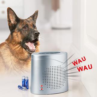 Elektronischer Wachhund mit Radar-Sensor Und schreckt Einbrecher ab. Radar statt Infrarot: die neue Generation Bewegungsmelder.