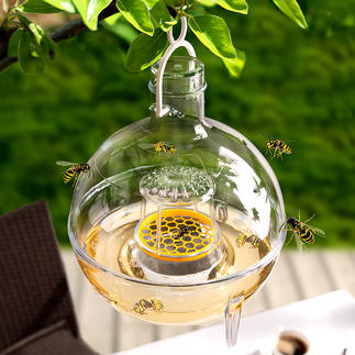 Schnecken-/Wespenfalle Bio-Catch, 3er-Set Hocheffektive Bierfalle gegen Schnecken und Wespen. Verschont unter Naturschutz stehende Hornissen.