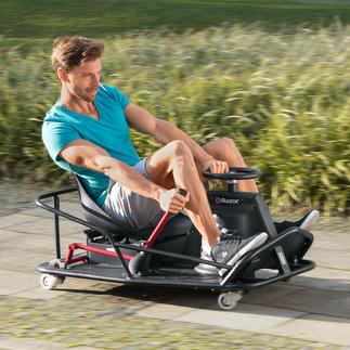 CrazyCart XL Heiße Drifts und spektakuläre 360°-Drehungen in voller Fahrt. Mit dem sensationellen CrazyCart.