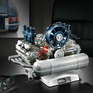 Steckbausatz Porsche 6-Zylinder-Boxermotor Motoren-Technik mit Kultstatus: der Porsche 6-Zylinder-Boxermotor als bewegliches 1:4-Modell.