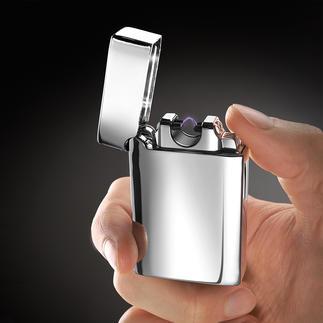 Lichtbogen-Feuerzeug Viel sicherer (und zuverlässiger): Kein Feuerzeuggas oder -benzin. Keine Hitze in der Nähe Ihrer Hand.