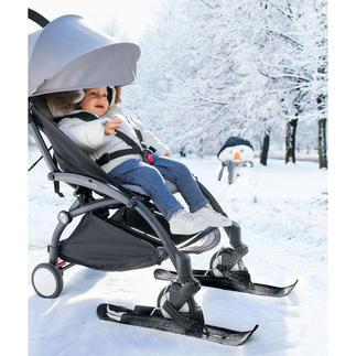 Kinderwagen-Skier Statt schwer schieben leicht gleiten. Bisher nur in Schweden, jetzt auch in Österreich erhältlich.