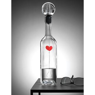 Herzschlag Das schlagende Herz in der Flasche: ein Kinetikobjekt von faszinierender Lebendigkeit.