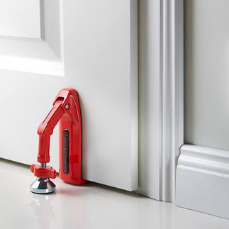 DoorJammer Sichert praktisch jede Tür gegen unbefugtes und gewaltsames Öffnen.