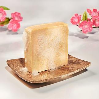 Hautmilchseife, 2er-Set Die Essenz Jahrtausende bewährter Schönheitspflege. Verwöhnt wie ein luxuriöses Bad in Milch.