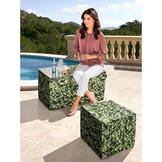 Hainbuchen Möbel Die Buchenhecke zum Sitzen. Und als originelle Ablage. Für Drinnen und Draußen. Perfekt als Hocker, Bank, Beistelltisch.