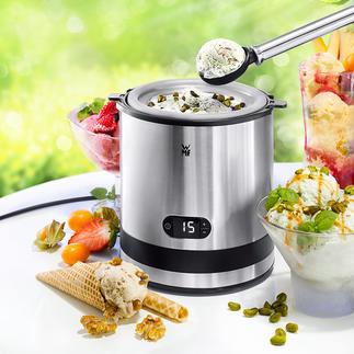 WMF KÜCHENminis Eismaschine Die bessere Eismaschine: mit professionellem Edelstahl-Behälter (statt Aluminium).