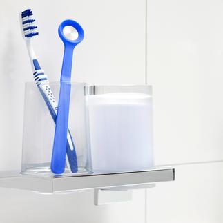 Zungenreiniger Geruchsstopp, 2er-Set Preisgekrönt: entfernt sanft Zungenbelag und stoppt schlechten Atem.