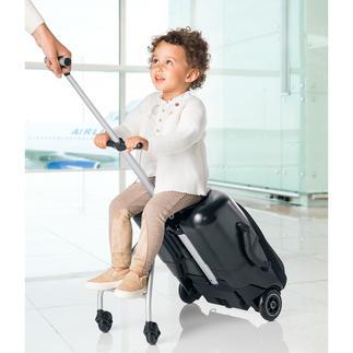 Micro Lazy Luggage Stabiler Hartschalen-Trolley für Kurztrips. Zugleich ein stylisher Caddy für Kids.