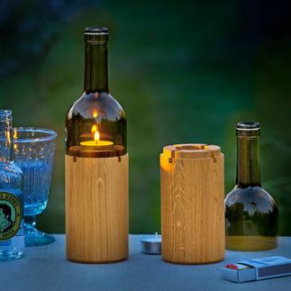 Weinlicht Stimmungsvolle Lichtquelle für das Candle-Light-Dinner auf Balkon und Terrasse.