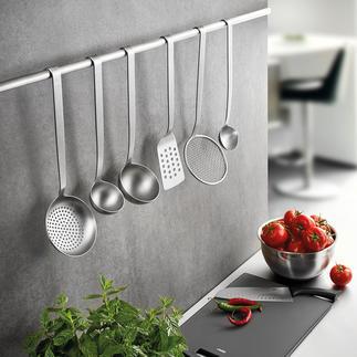 Gefu Küchenhelfer BASELINE Unentbehrliche Küchenhelfer in Profi-Qualität. Aus solidem Edelstahl fugenlos gefertigt.