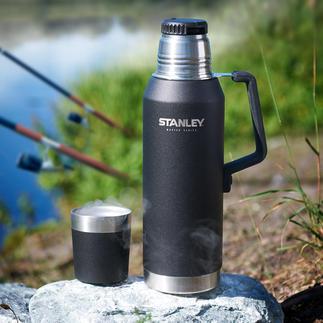 Stanley 1,3-l-Isolierflasche MASTER Series Die Heavy-Duty-Isolierflasche aus den USA: hält Getränke 40 Stunden (!) heiß und 35 Stunden kalt.