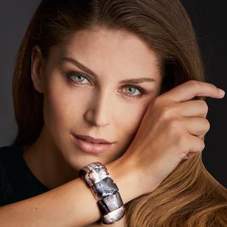 Achat-Armband Jeder Edelstein ein kostbares Unikat. Und doch erfreulich erschwinglich.