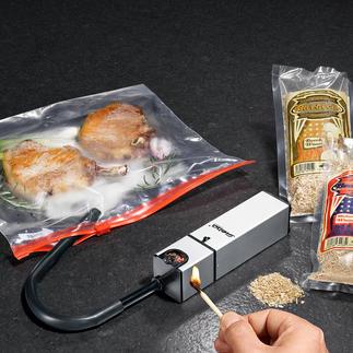 Smoke-Box Zart geräucherte Speisen – einfach und schnell wie nie. Die kompakte Smoke-Box für den Küchengebrauch.