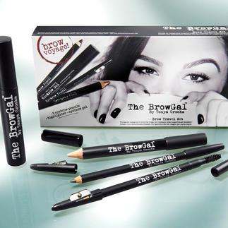 The BrowGal Das Beauty-Geheimnis trendgerecht voller, perfekt definierter Augenbrauen.