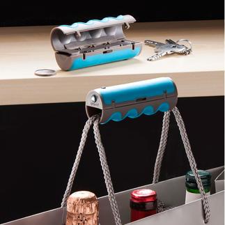 gripOne® Tragehilfe, 2er-Set Schwer schleppen leicht gemacht. Die clevere Tragehilfe für fast alle Tüten und Taschen.