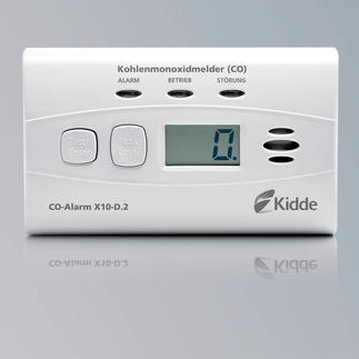 CO-Alarm X10-D.2 Lebenswichtige Technologie von Kidde, Weltmarktführer für Kohlenstoffmonoxid- und Rauchmelder im Privatbereich.