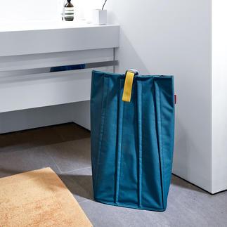 """Wäschetasche Stylishes Design verwahrt Wäsche, Decken, Spielzeug, … Die Laundrybag von reisenthel: Goldmedaille beim renommierten """"A´Design Award""""."""