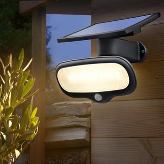 500 Lumen Solar-Sicherheitslicht Heller als eine 60 Watt Birne – und kein Cent Stromkosten.