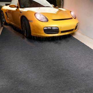 Quick-Dry-Garagenmatte Trockene Garage – sauberes Haus.