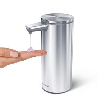 Sensor-Seifenspender mit Dosierautomatik Spendet bei jeder Entnahme genau die gewünschte Seifenmenge. Berührungslos. Per Sensor-Steuerung.