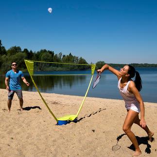 Schildkröt® Badminton-Set Badminton-Outdoor-Training endlich mit Netz in Turnierhöhe.